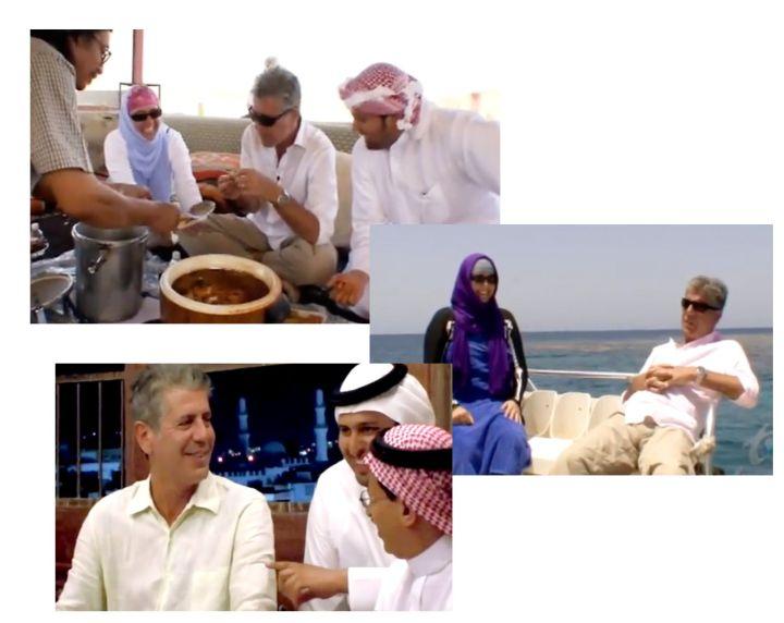 anthony bourdain no reservations saudi arabia